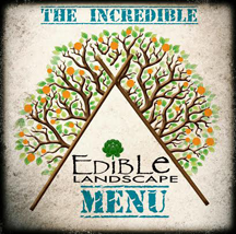 Edible Landscaping Menu